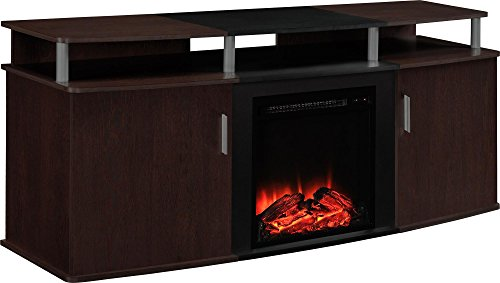 Altra Furniture Carson Fireplace TV Console