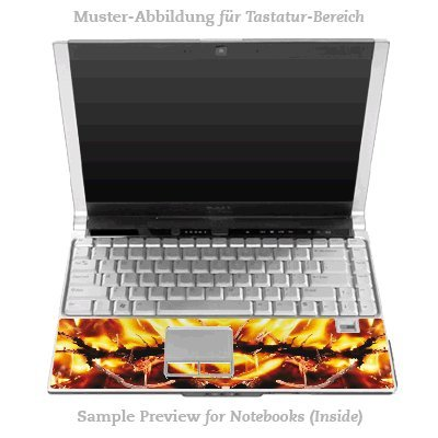 Design Skins für HP EliteBook 2530p Tastatur (Inlay) - Armageddon Design Folie