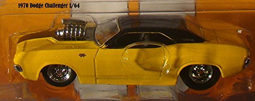 jada-big-time-muscle-1970-dodge-challenger-164-scale-yellow-die-cast-car-by-jada-big-time-muscle