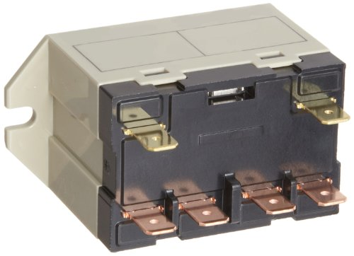 Omron G7L-1A-Tub-Cb-Ac12 General Purpose Relay, Class B Insulation, Quickconnect Terminal, Upper Bracket Mounting, Single Pole Single Throw Normally Open Contacts, 142 Ma Rated Load Current, 12 Vac Rated Load Voltage