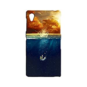 BLUEDIO Designer 3D Printed Back case cover for Sony Xperia Z1 - G3862