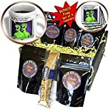 Mark Grace GRACEVISIONS Aliens and UFOs - ALIENS AND UFOS alien galaxy 1 on transparent - Coffee Gift Baskets - Coffee Gift Basket