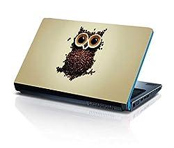 alterEgo Vinyl Laptop Skin- 13 IN, Coffe Owl