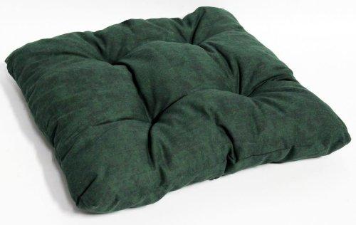 Sitzkissen für Gartenmöbel Indoor Dekokissen Polster ca. 38x38cm dunkelgrün leicht marmoriert jetzt kaufen