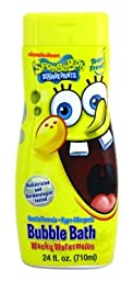 Spongebob Bubble Bath 24 oz. Wacky Watermelon (3-Pack) with Free Nail File