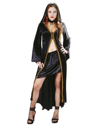 Witch Elegant Plum Sm-Md Halloween Costume
