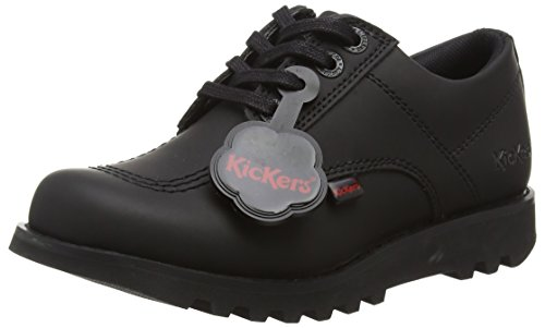 Kickers Kick Lo C, Junior Stivali, Ragazzi, Nero (Black), 33