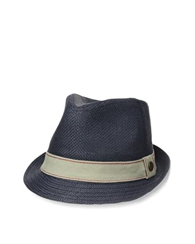 Levi's Men's Faded Straw Burlap Band Trilby Hat