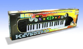 37 Keys Electronic Keyboard - Mic Included For Kids 3Y+