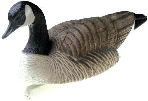 Final Approach Standard Size HD Floating Canada Goose Decoy Actives (Pack of 6)