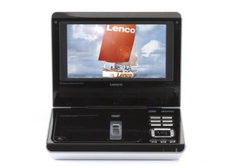 Lenco DVP-731 DVD-Player (18 cm (7 Zoll) Display, USB 2.0)