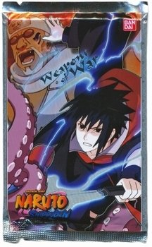 Naruto Shippuden Collectible Card Game Weapon's of War Booster Pack (10 Cards) - 1