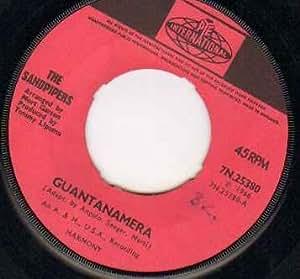 Sandpipers Sandpipers Guantanamera 7 Inch Vinyl 45
