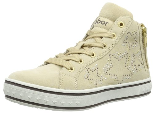 Gabor Girls Paola High-Top 87.451.02 Beige 3 UK Youth, 36 EU