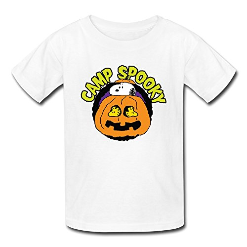 AOPO Camp Spooky Halloween T Shirts For Kids Unisex
