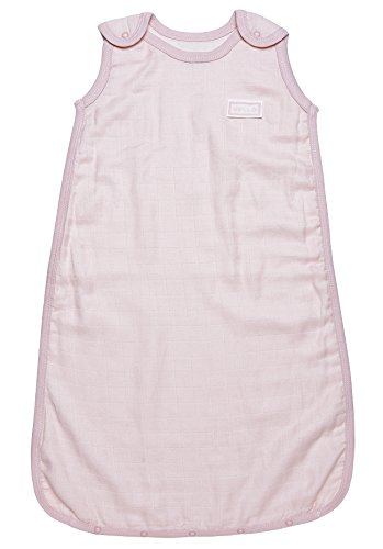Under The Nile Baby-Girls Infant Sleep Sac Muslin, Pink, 0-6 Months