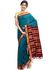 Sudarsahan Silks South Karantaka Span Cotton Silk Saree