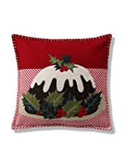 Christmas Pudding Cushion