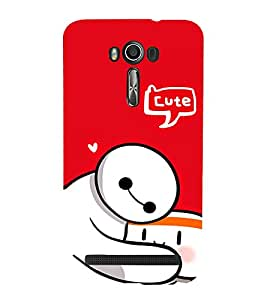 EPICCASE Cute Teddy cover Mobile Back Case Cover For Asus Zenfone 2 Laser ZE601KL / Asus Zenfone 2 Laser ZE601KL (6 Inches) (Designer Case)