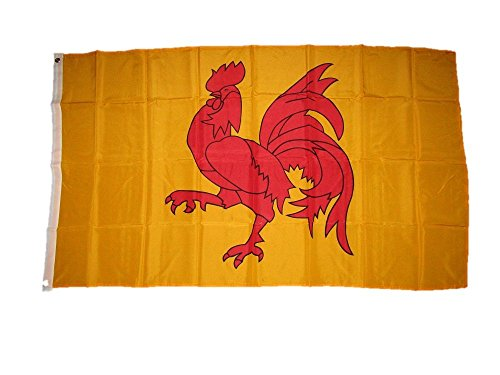 flag-of-wallonia-3x5-ft-banner-bold-red-walloon-rooster-french-belgium-region