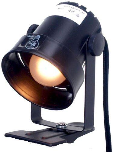ELPA クリップライト SPOT-CS25(BK) ブラック