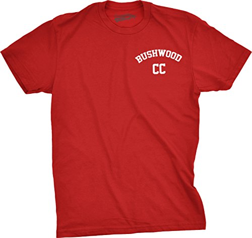 Bushwood Country Club T Shirt Funny Caddyshack Shirts (Red) XXL (Wood Brothers T Shirt compare prices)