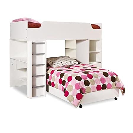 Logik Bedroom Set White