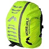 More Mile High Viz Waterproof Backpack Rucksack Bag Cover for Cycling or Running MM1394