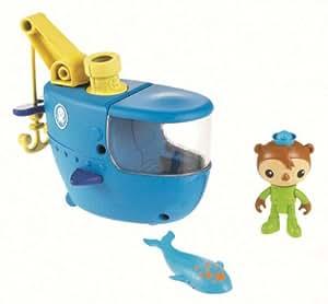 Mattel Fisher-Price W3144 - Die Oktonauten Boot mit Guppy-C und Sebastian