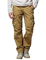 "Match Mens Casual Cargo Pants Trousers #6521 (W36""(92cm-94cm), Mud)"