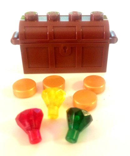 Lego Treasure Chest & Gold + Rubies - 1