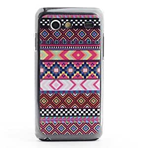 Aztec Tribal Pattern Protective PVC Back Case for Samsung Galaxy S Advance i9070 in Multi-color
