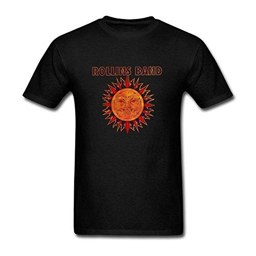 UKCBD -  T-shirt - Uomo nero Large