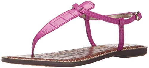 Sam Edelman Women's Gigi Gladiator Sandal, Pop Fuchsia, 8 M US