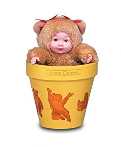 Anne Geddes Flower Pot Babies Bear by Anne Geddes