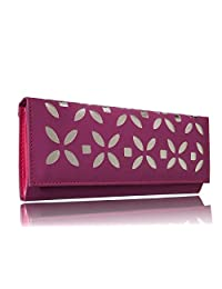 Sn Louis Canvas Pink Women Wallet 597