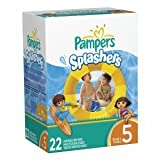Pampers Splashers Disposable Swim Pants Size 5 22 Count