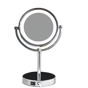 LOYWE LED Beleuchtet wunderschöne Kosmetikspiegel 1+10 LWW5310    Kundenbewertung und Beschreibung