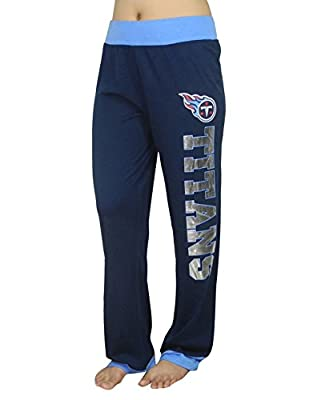 Womens TENNESSEE TITANS Lounge pants / Yoga Pants with FOIL PRINT