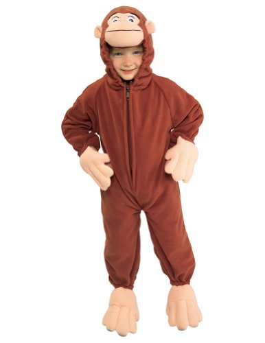 Curious George Kids Costume Sm Kids Girls Costume