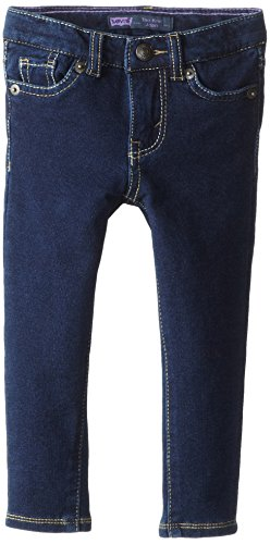 Levi's Little Girls' The Knit Jean, New Rinse, 6