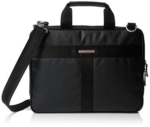 Tommy Hilfiger - Darren Slim Computer Bag, Borsa da uomo, nero (schwarz), unica