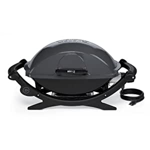 Weber 592001 Q-240 Portable 280-Square-Inch Electric Grill (Discontinued by Manufacturer)