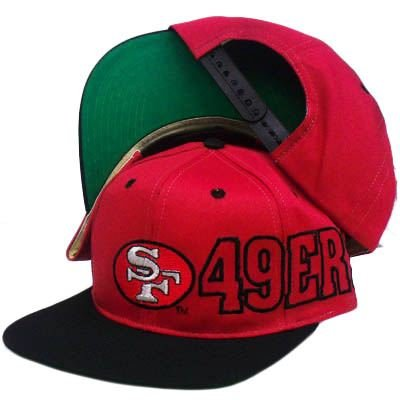 buy snapback hat cap nfl san francisco 49ers old school vintage