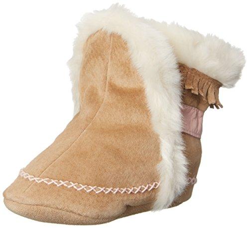 Robeez Fab Folk Crib Shoe (Infant/Toddler),Taupe,12-18 Months M Us