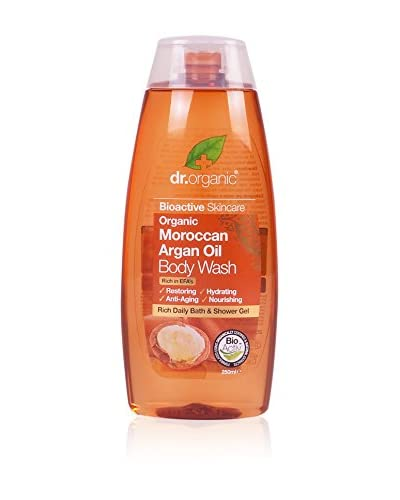Dr. Organic Set Gel De Ducha Energizante 6 Uds. Argan 1500 ml