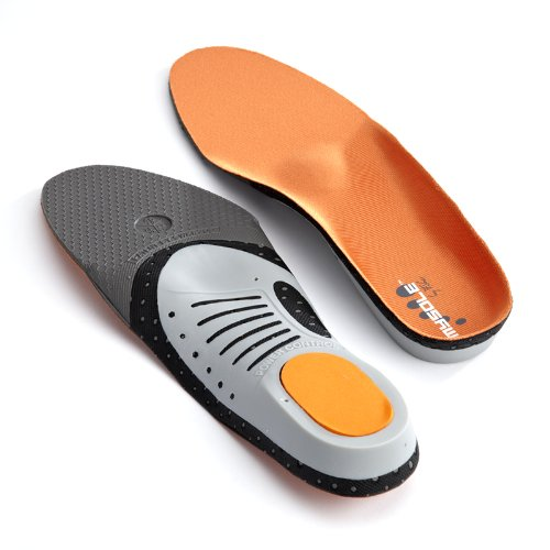 Mysole ShockAbsorbing Racket Sports Insoles Comfort Support Activity Orthotics
