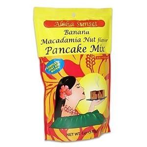 Click to buy Banana Macadamia Nut Pancake Mix From Hawaiifrom Amazon!