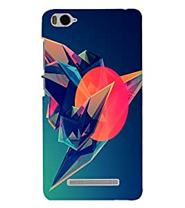 PRINTSHOPPII ABSTRACT Back Case Cover for Xiaomi Redmi MI 4C::Xiaomi Mi 4C