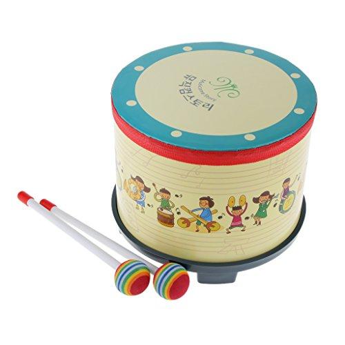 ninos-aprenden-juego-de-percusion-tambor-w-palillos-de-colores-golpearon-juguete-de-regalo